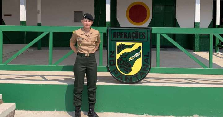 Pirassununguense é a 3ª mulher do Exército Brasileiro em concluir Operação no Pantanal