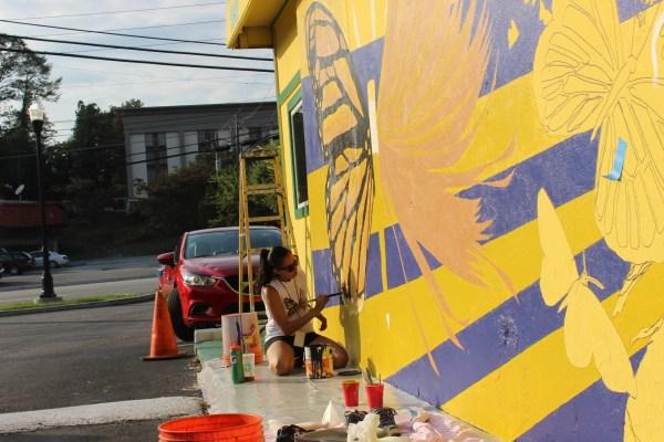 Monarch Mural Buford Highway Symbol