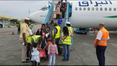 Nigerian returnees from Libya