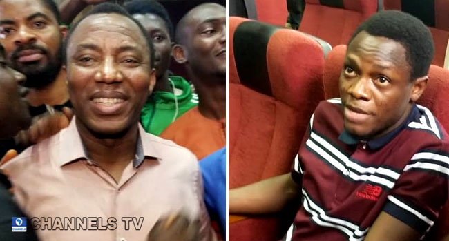 Omoyele Sowore and bakare in court