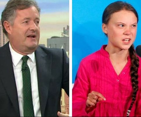 Piers Morgan Reacts As Greta Thunberg Is Tipped For A Nobel Peace Prize