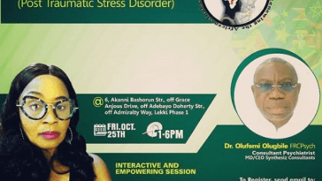 Kemi Olunloyo To Speak On Post Traumatic Stress Disorder In Lagos