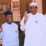 President Buhari and Yemi Osinbajo