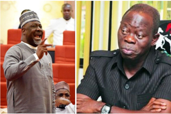 You Have Verbal Diarrhea – Dino Melaye Hits Adams Oshiomhole