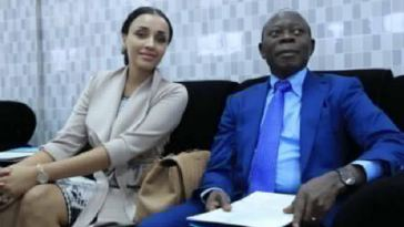 JUST IN: Adams Oshiomole And Wife Lara Seperate, Agree On Silence Deal - Report