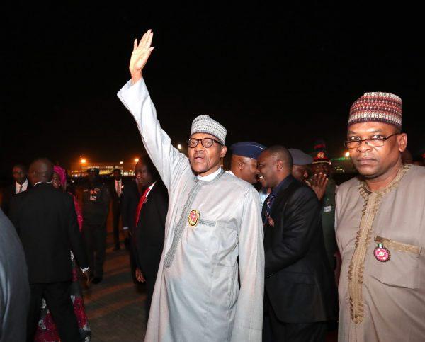 Kogi And Bayelsa Election? President Buhari Returns Home Ahead Of Schedule