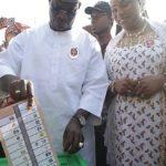 Kogi Election: Governor Yahaya Bello, Wife Vote