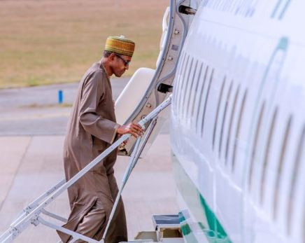 NIGERIA: President Buhari Departs Saudi Arabia For UK On 2-week Private Visit