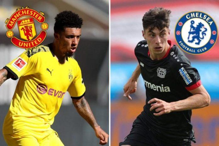 Dortmund Now Using Kai Havertz As A Tactic In Jadon Sancho To Man Utd Transfer