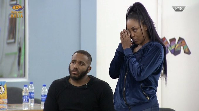 Erica Has Been Disqualified From The #BBNaija5 Lockdown Show (Video)