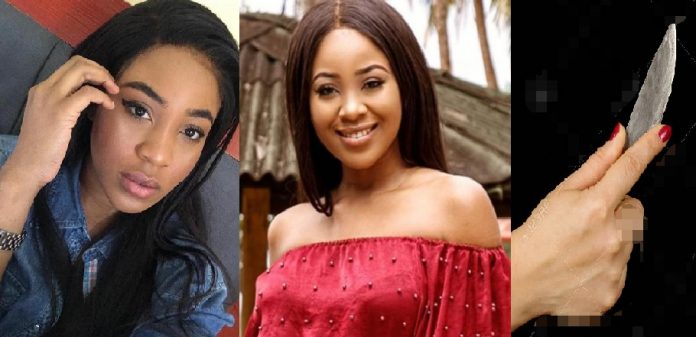 #BBNaija: Erica Has Pulled A Knife Before On One Of Her Exes – Lady Alleges