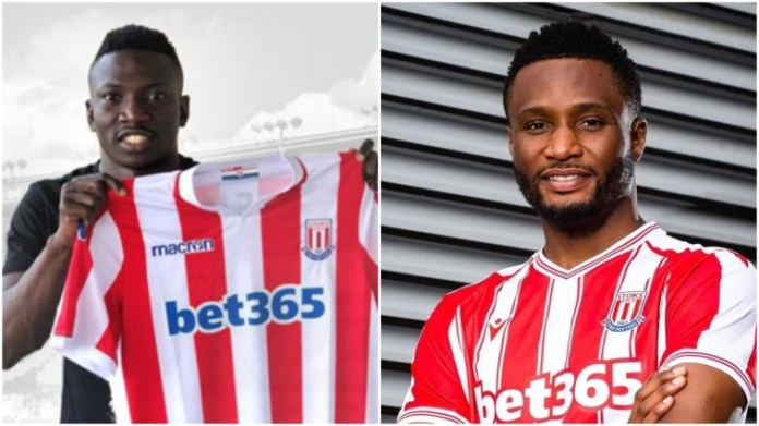 Mikel Obi's Entrance Sees Oghenekaro Etebo Leave Stoke City