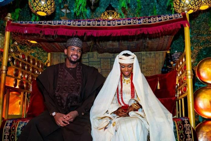 Photos From President Buhari's Daughter, Hanan's Wedding