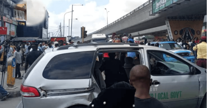 JUST IN: Police Arrest Anti-fuel Hike Protesters In Lagos