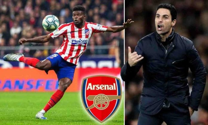 Thomas Partey Tells Arteta What To Do To Force His Transfer Exit From Atletico Madrid