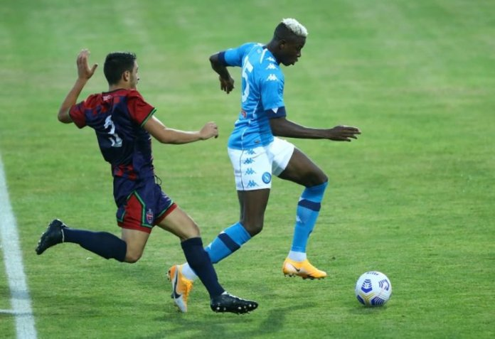 Victor Osimhen Gets Another Hat-Trick In Napoli Friendly Win