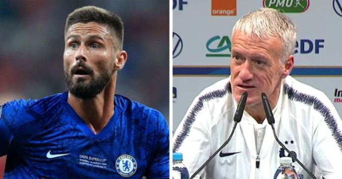 Deschamps Gives Olivier Giroud Condition To Enter France Squad For Euro 2020 Finals