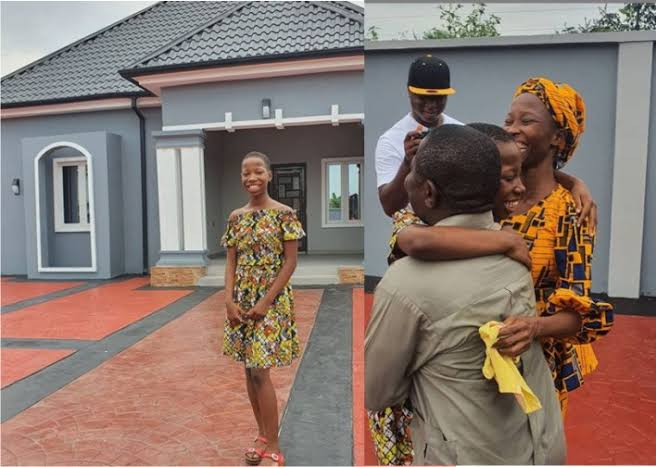 10-Year-Old Comedienne, Emmanuella Unveils New House She Built For Her Mum (Photos)
