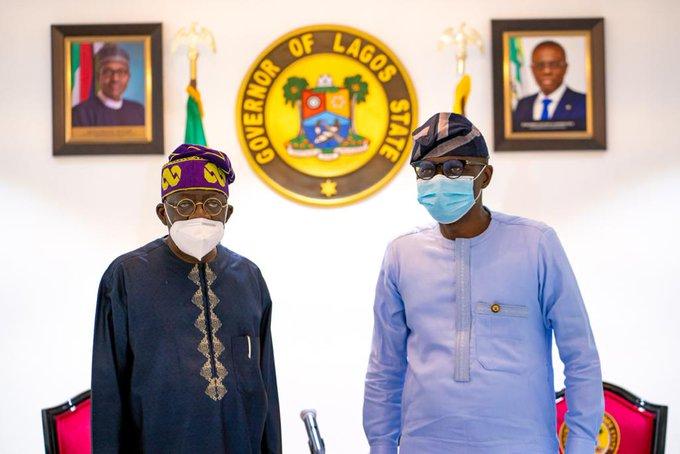 What Tinubu Said To Sanwo-Olu's Move To Abolish Pension For Former Governors