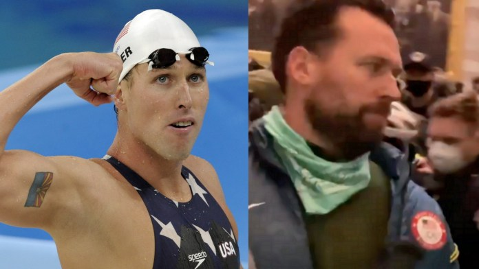 Klete Keller, Olympic Gold Medalist Charged For His Alleged Role In Capitol Riots