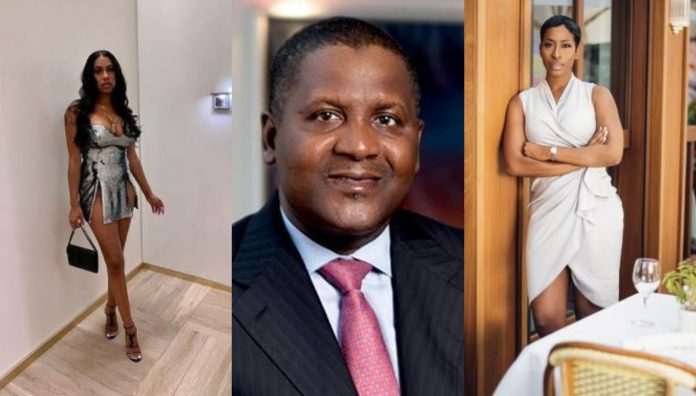 Dangote Denies Dating Lady Who Claims He Broke Her Heart