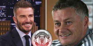 Beckham Offers His Assessment Of Solskjaer's As Man Utd Boss