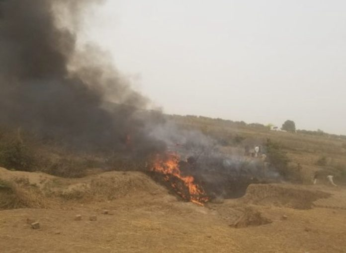 BREAKING: Many Dead In Abuja Nigerian Air Force Plane Crash