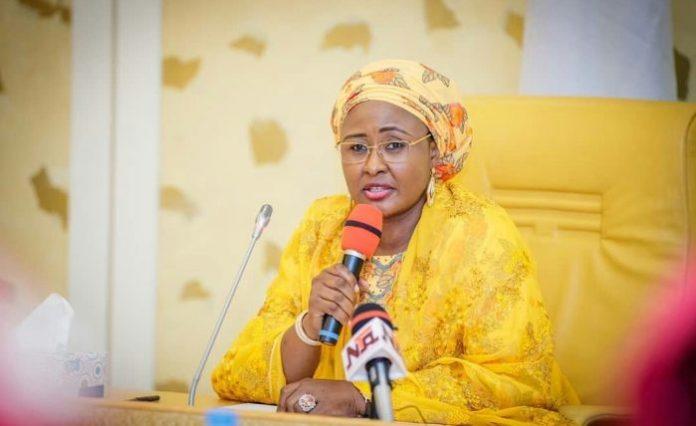 Just In: Aisha Buhari Breaks Long silence