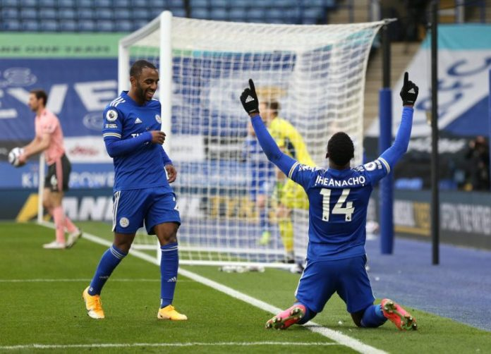 Iheanacho scores hat-trick as Leicester trounce doomed Sheffield