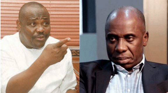 we taught them a lesson in politics - Wike mocks Amaechi