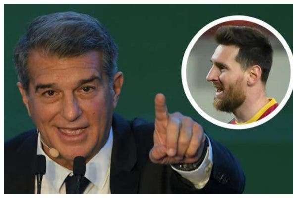 'You know you can't leave' – Laporta tells Messi