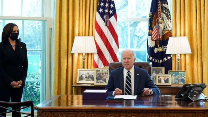Biden signs $1.9 trillion COVID relief bill hours ahead of speech to nation