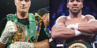 Anthony Joshua vs Tyson Fury Fight To Hold In Saudi Arabia, Other Details Reveal