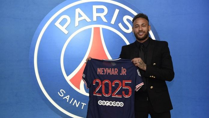 Neymar Seals Contract Extension With Paris Saint-Germain, Until 2025