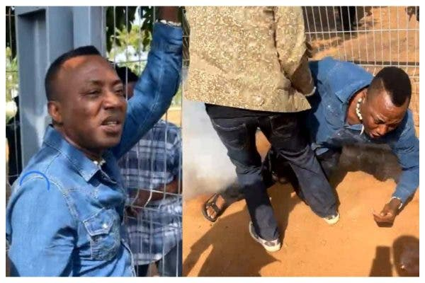Omoyele Sowore Allegedly Shot By Police During Protest In Abuja (Details)