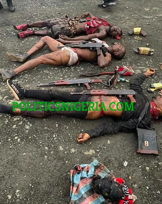 Police Capture, Neutralize Ahmed Gulak's Killers (Graphic Pictures)