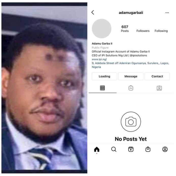 Adamu Garba's Instagram Account Deleted Days After His App Was Removed From Google Play Store