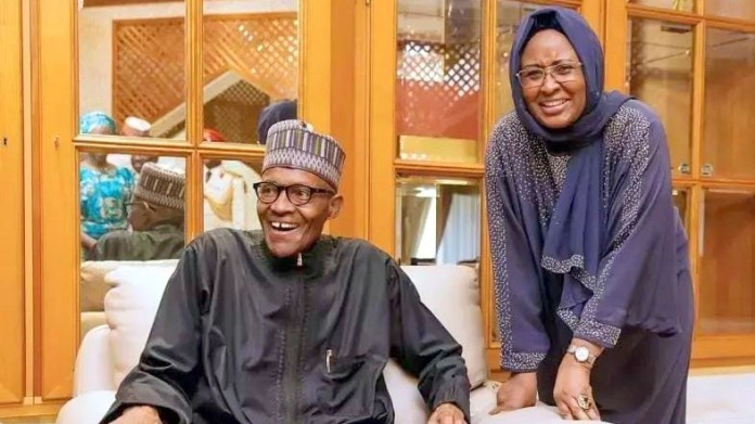 Buhari Appoints New Aides For Wife, First Lady Aisha