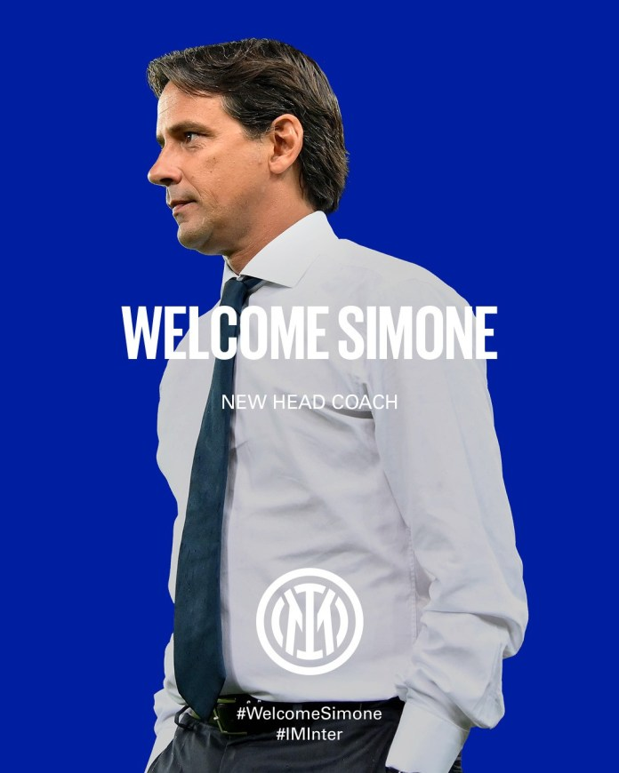 Simone Inzaghi Becomes Inter Milan's New Head Coach