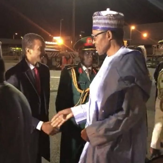 Buhari Touches Down London For Medicals And Summit