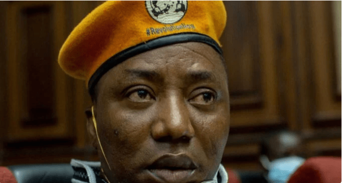 Omoyele Sowore Arrested at federal high court in Abuja