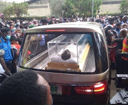 See Photos From The Lying-In-State For Clergyman, Late Senior Prophet TB Joshua