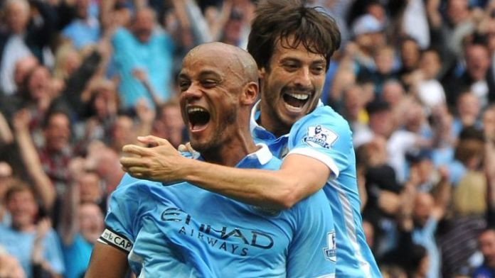 Manchester City Unveils Kompany And Silva Statues