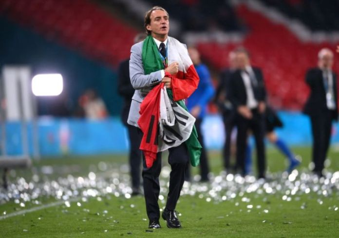 Mancini Recalls Italy's Euro 2020 Winning Squad For World Cup Qualifiers