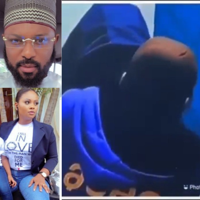 BBNaija's Tega's Husband Reacts After She Allowed A Male Housemate Suck Her Breast