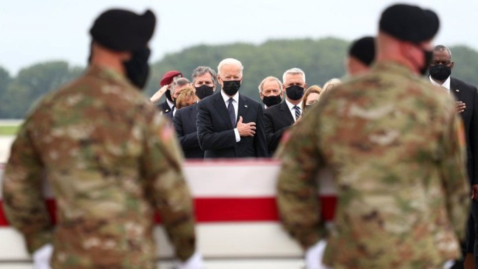 President Biden, US Military, And Family Members Pay Tribute As Bodies Of 13 Troops Killed In Afghanistan Airport Attack Return To The U.S. (photos)