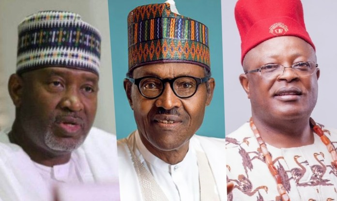 Buhari Sent Me To Collect N10 Billion For Ebonyi Airport, Umahi Tells Sirika