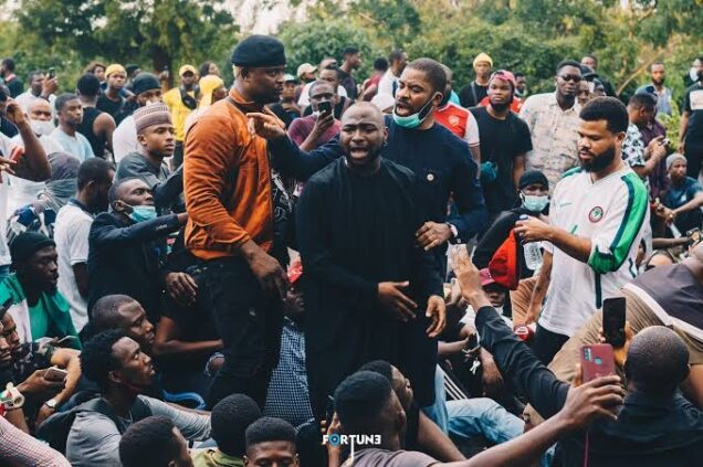 How My Participation In The #EndSARS Protest Got Me In Trouble - Davido