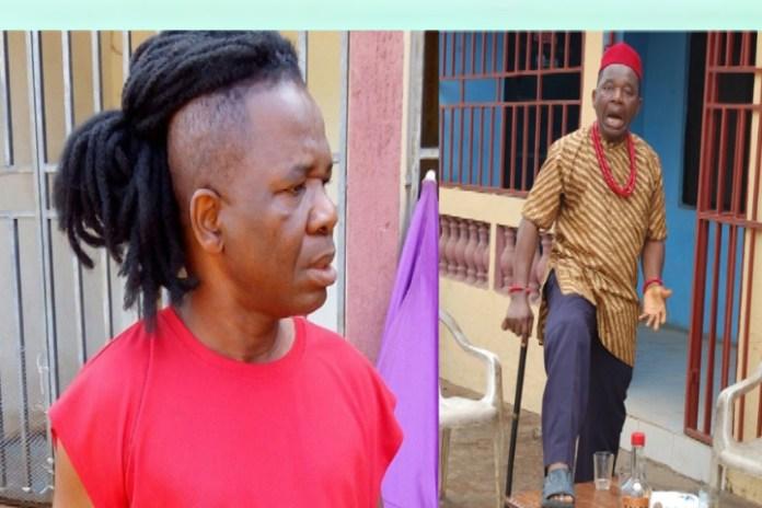 Veteran Actor, Chinwetalu Agu Brutalized By Soldiers For Wearing Biafran Flag Outfit (Video)