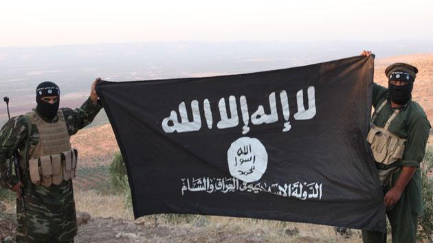 """Steagul """"Statului Islamic""""..."""